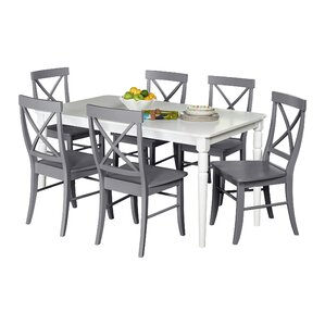 Brookwood 7 Piece Dining Set Kitchen  Room Sets You ll Love Wayfair