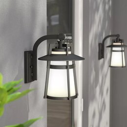 Modern outdoor lighting allmodern outdoor wall lighting aloadofball Image collections