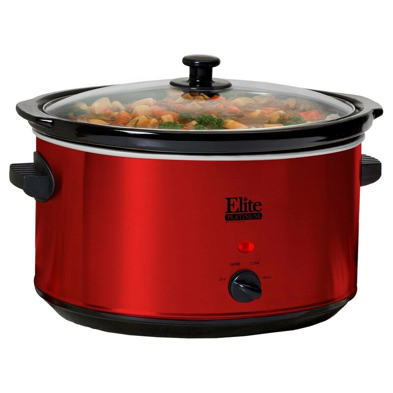 ELITE PLATINUM 8 5 Qt  Slow Cooker