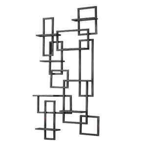 Humberto 8 Bottle Wall Mounted Wine Rack by Corrigan Studio