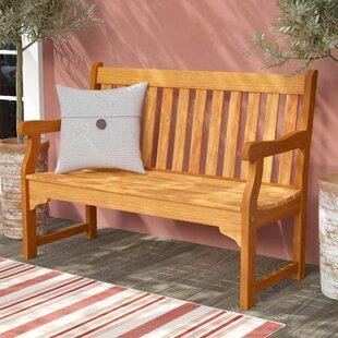 Cadsden Hardwood Garden Bench