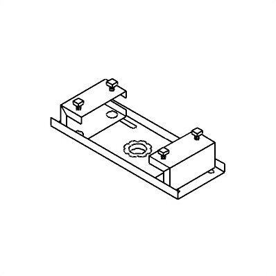 peerless tv and projector ceiling mounts and parts ibeam clamp