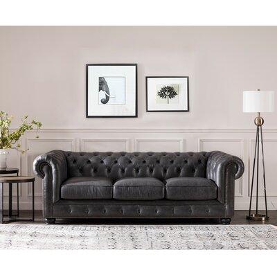 Denim Amp Leather Sofas You Ll Love In 2019 Wayfair