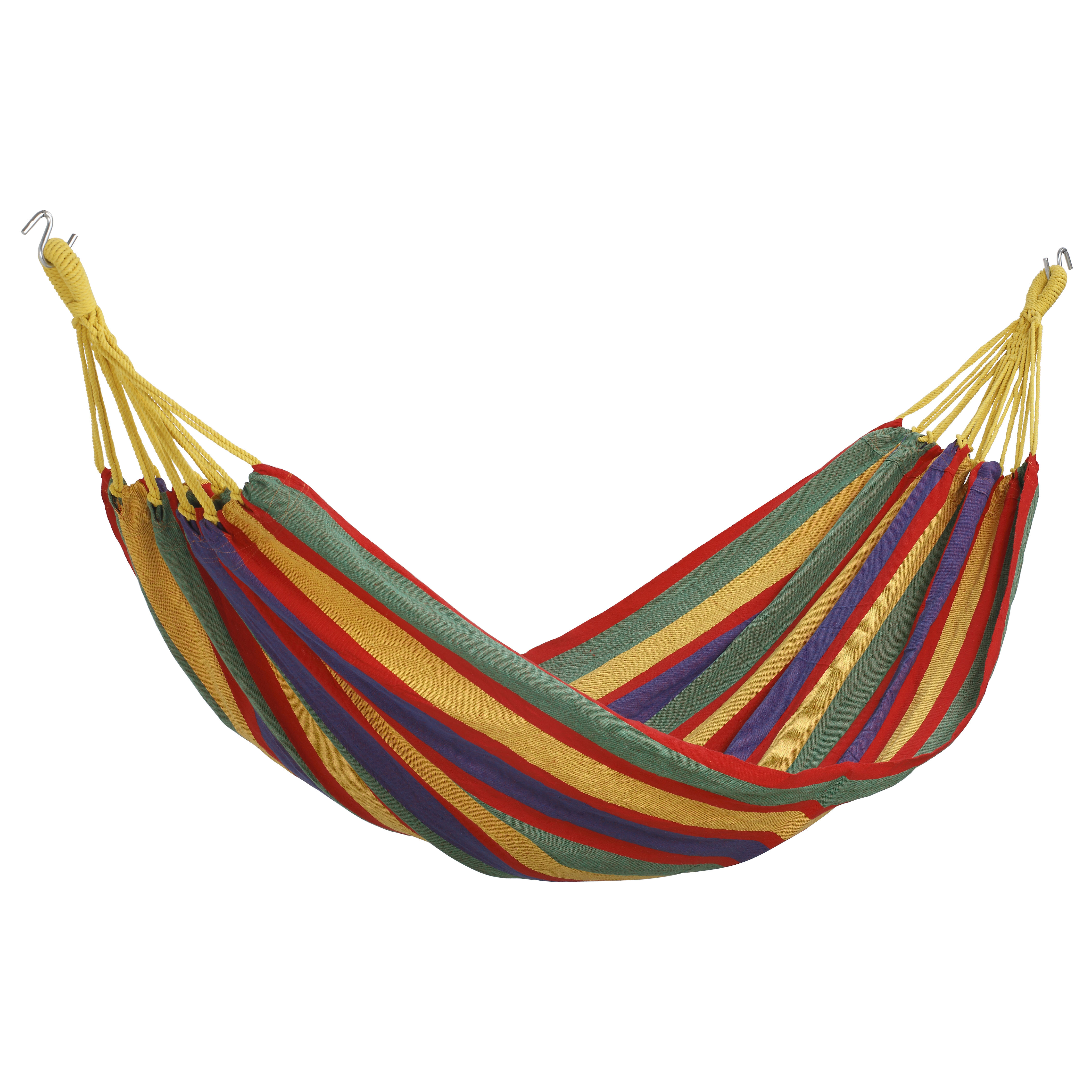 vonhaus brazilian cotton camping hammock  u0026 reviews   wayfair  rh   wayfair