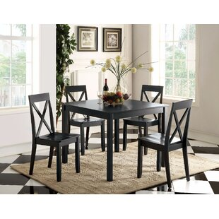 Blaisdell 5 Piece Counter Height Dining Set