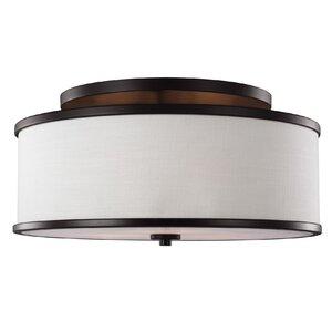 Nina 3-Light Semi-Flush Mount