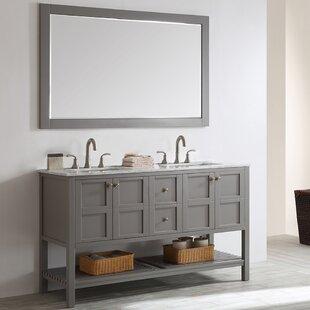72 Inch Double Vanity Mirror | Wayfair