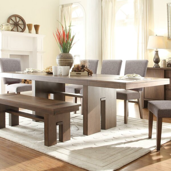 Modern & Contemporary Paonia 8 Piece Dining Set | AllModern