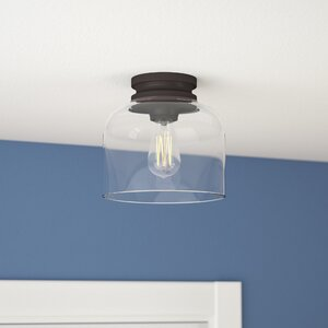Nolan 1-Light Semi Flush Mount
