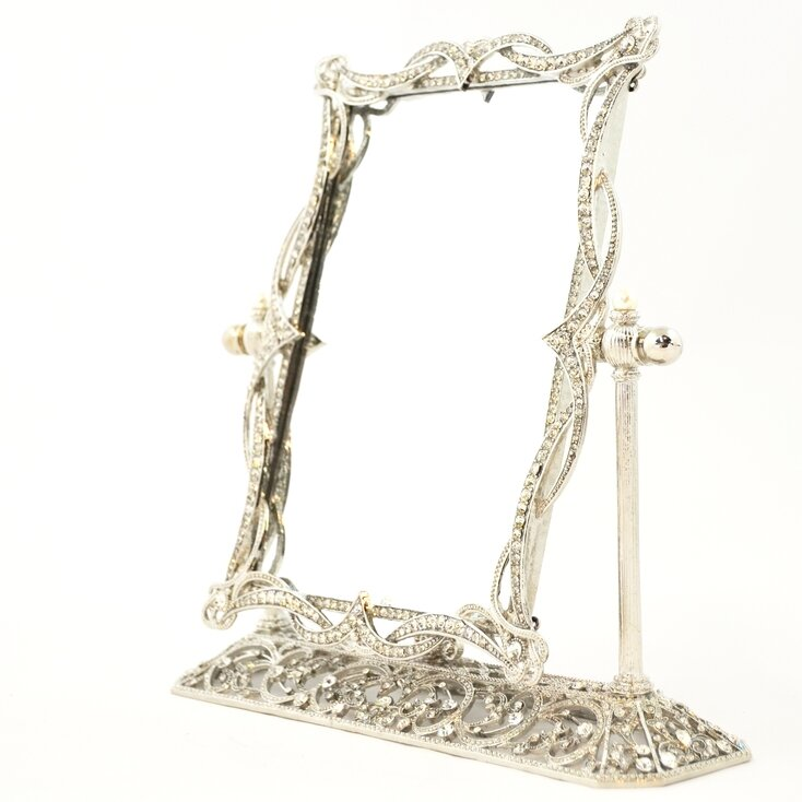 Rosdorf Park Draves Swivel Mirror on Stand Picture Frame | Wayfair