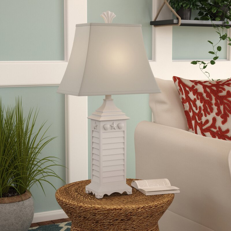 Beachcrest home carlena nautical theme 29 table lamp reviews carlena nautical theme 29 table lamp aloadofball Images