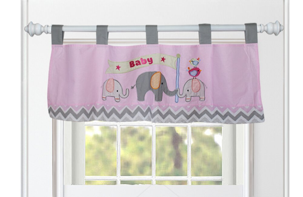 Babyfad Elephant Zigzag 10 Piece Crib Bedding Set