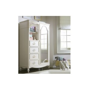 Harmony Mirrored Door 4 Drawer Combo Dresser by Wendy Bellissimo by LC Kids
