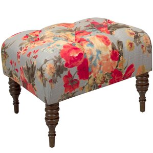 Jeanbaptiste Tufted Ottoman by One Allium Way
