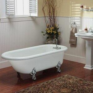 60 x 30 freestanding tub. Regent 60  x 30 Freestanding Soaking Bathtub Small Tub Wayfair