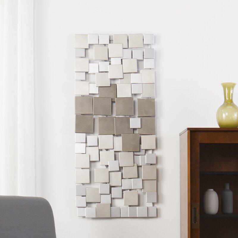 Zipcode Design Contemporary Geometric Wall Dcor Reviews Wayfair