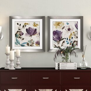 Purple Wall Art Youll Love Wayfair