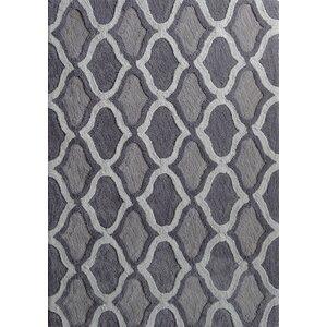 Moro Shag Hand-Tufted Gray Area Rug
