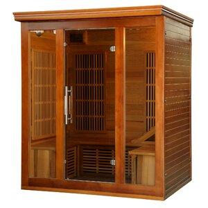 Puretech Low EMF 4 Person FAR Infrared Sauna