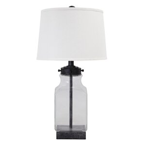 Glass Clear Table Lamps Youll Love Wayfair