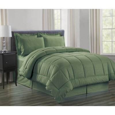 Alcott Hill Sartor Soft Beautiful Design Complete Bed In A Bag 8