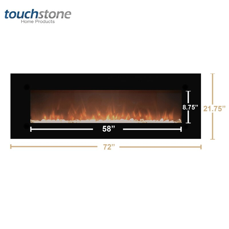 Touchstone OnyxXL Wall Mount Electric Fireplace & Reviews | Wayfair