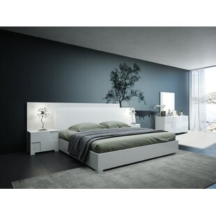 Parman Italian Platform 5 Piece Bedroom Set