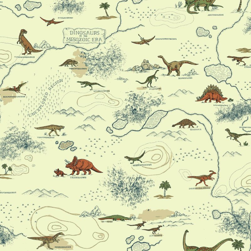 York Wallcoverings Brothers And Sisters V Mesozoic Era 33