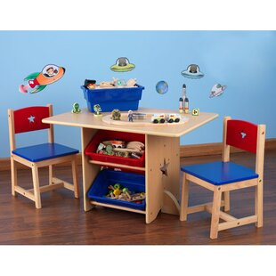 Star Kids 5 Piece Table and Chair Set  sc 1 st  Wayfair & Kidsu0027 Table and Chairs Youu0027ll Love | Wayfair