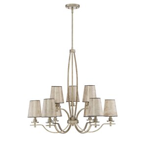 Chateau 9-Light Shaded Chandelier