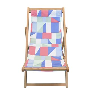 Reidy Cabana Reclining Beach Chair