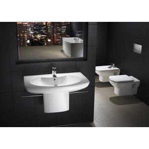 Harter WC-Sitz Senso Eckig von Roca