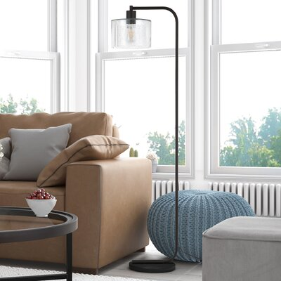 Clear Amp Glass Shade Floor Lamps You Ll Love In 2019 Wayfair