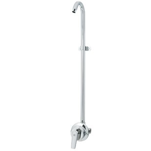 exposed pipe shower . Sentinel Mark II Exposed Shower System Pipe  Wayfair