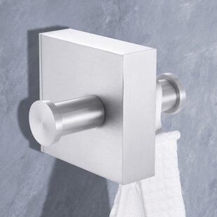 towel hooks. Wall Mounted Double Towel Hook Hooks