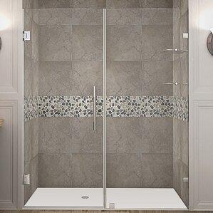 Frameless Sliding Tub Shower Doors shower & bathtub doors you'll love | wayfair