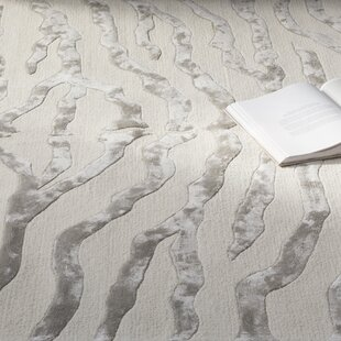 Dodgson Hand Tufted Gray Ivory Area Rug