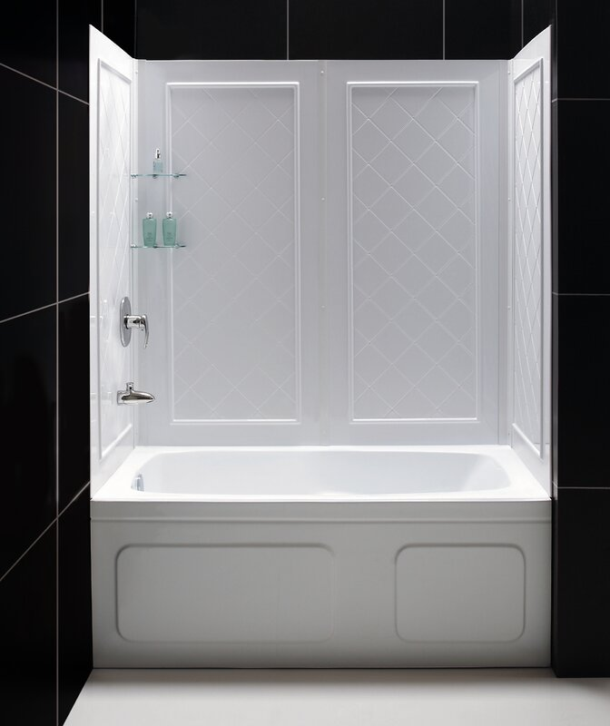 Tub Wall Surround Reviews. luxury bathroom tile designs one piece ...