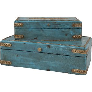 2-tlg. Aufbewahrungsboxen-Set von Ian Snow