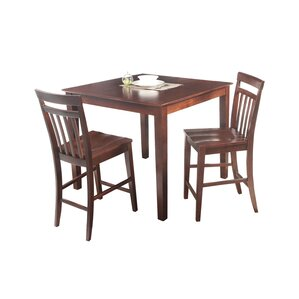 Foxfield 3 Piece Counter Height Dining Se..