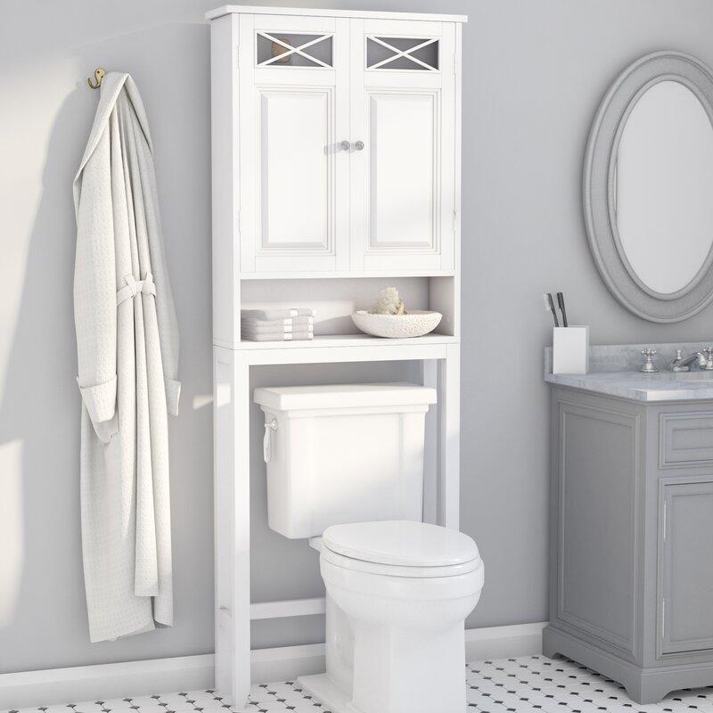 Bathroom Over The Toilet Cabinet. Coddington 25 W X 68 H Over The Toilet Storage