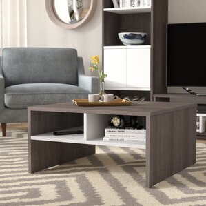 Frederick Storage Coffee Table with Magazine Rack by Latitude Run