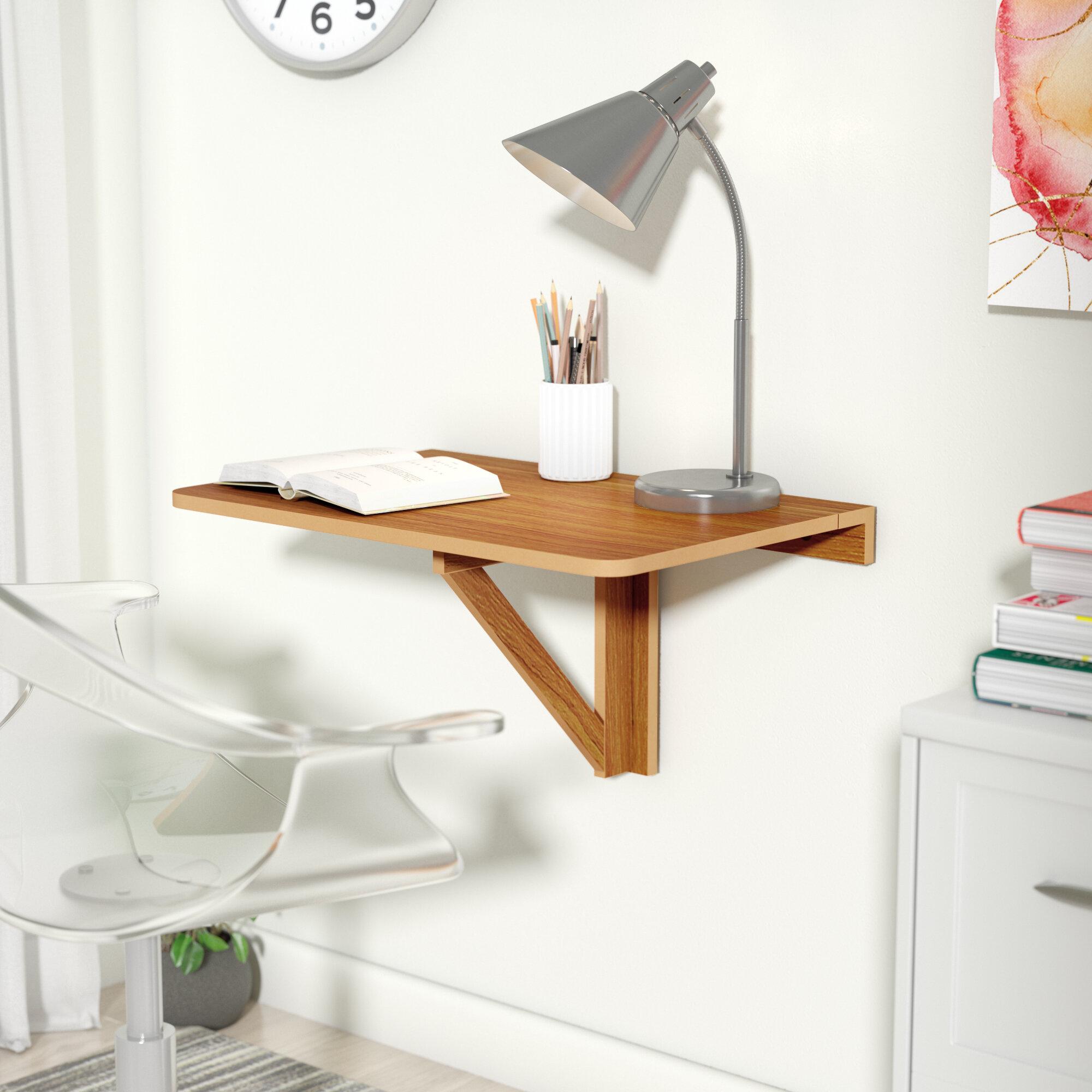 Zipcode Design Eddie Wall Mounted Floating Desk U0026 Reviews | Wayfair