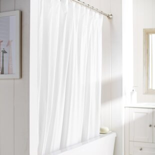 White Shower Curtain Liners Youll Love