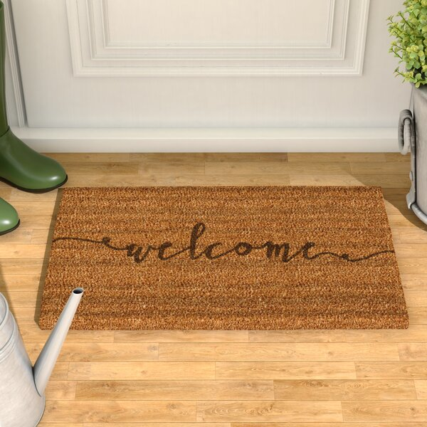 mat slip sunflower product home non coir beautiful doormat garden door x mats