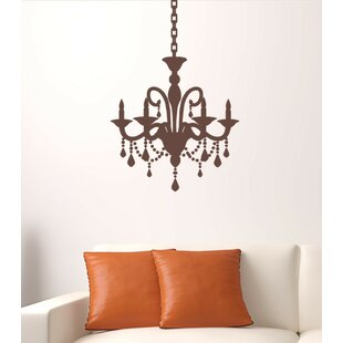 Delightful Cottage Chandelier Wall Decal