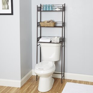 Bronze Over The Toilet Storage Youu0027ll Love | Wayfair