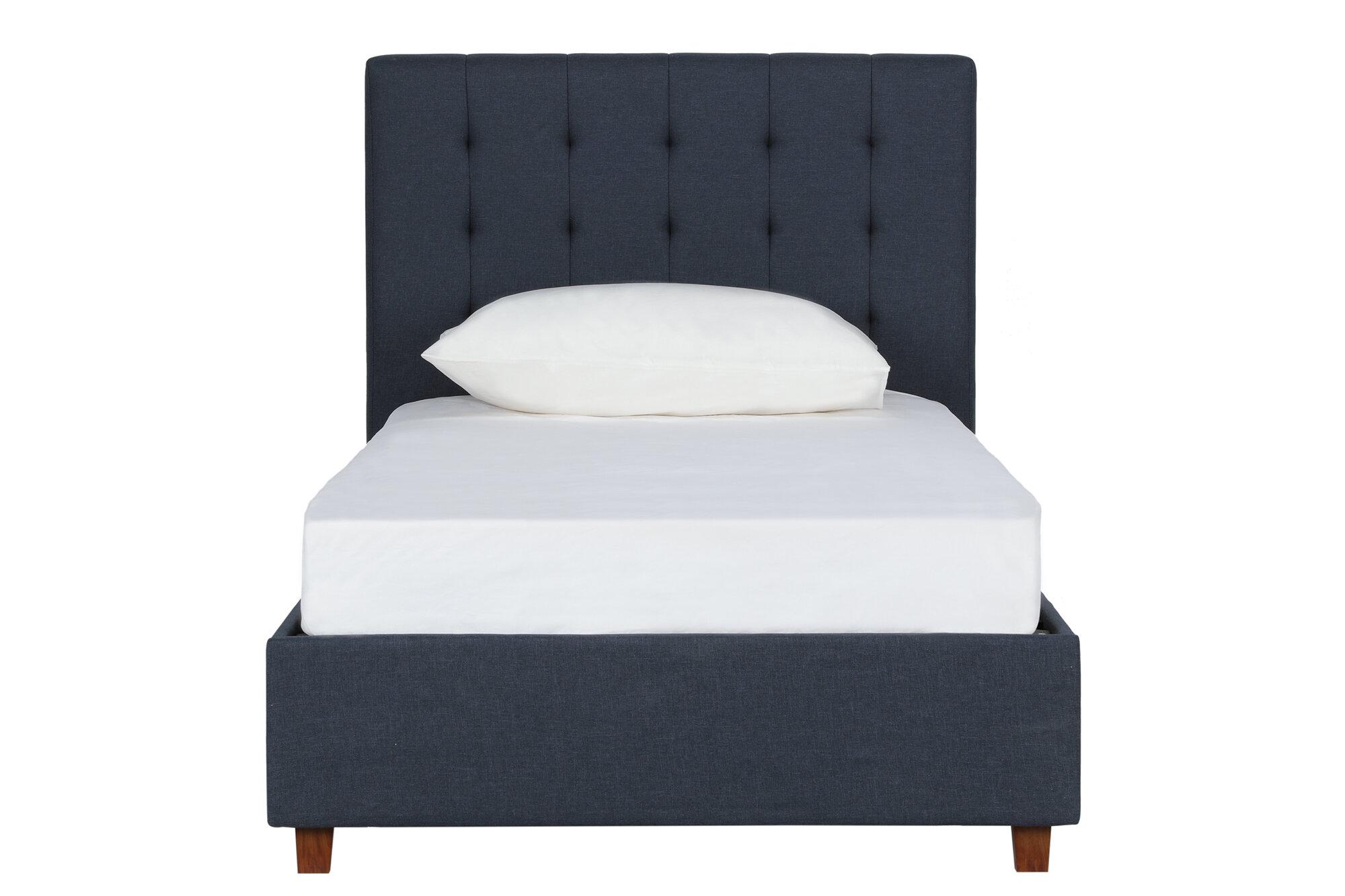 size 40 eea55 4693d Littrell Upholstered Platform Bed