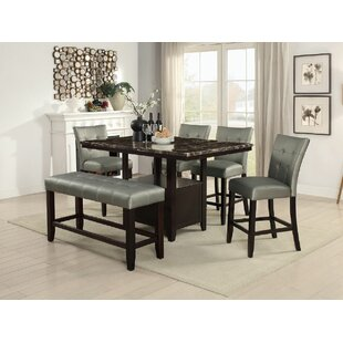 Upper Strode High Upholstered Dining Chair (Set of 2)
