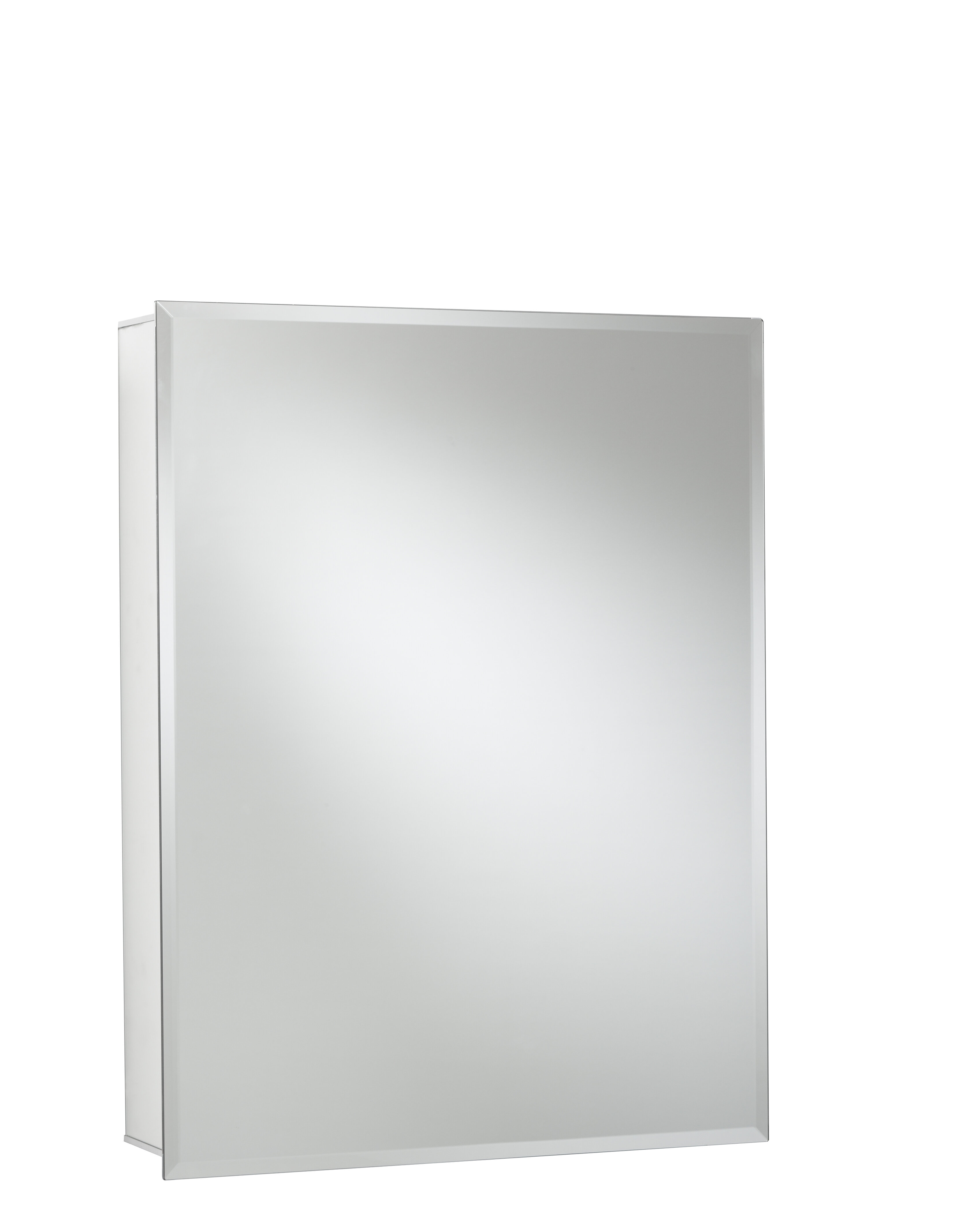 Jacuzzi 24 X 30 Recessed Or Surface Mount Frameless Medicine Cabinet With 2 Adjule Shelves Reviews Wayfair